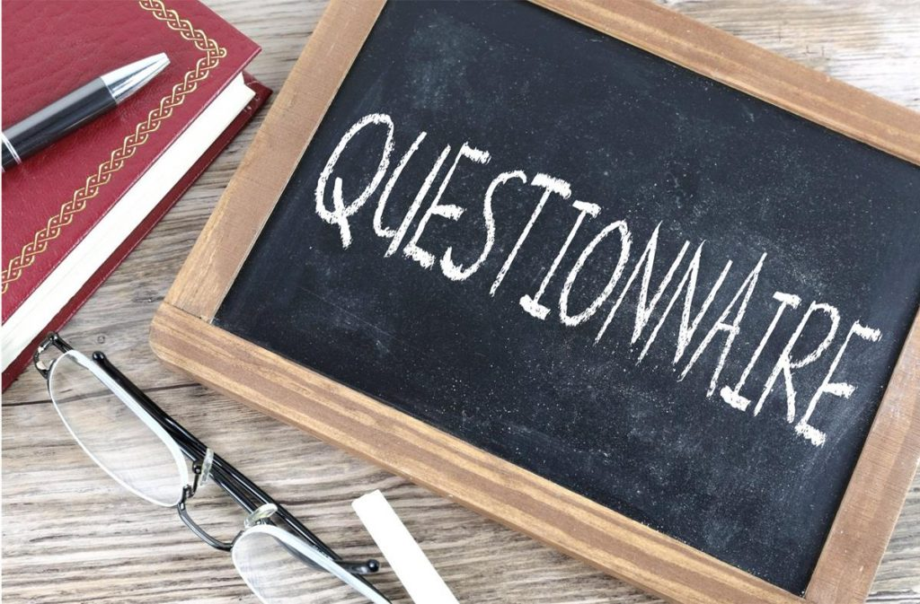 Questionnaire Image from Alpha Stock Images - http://alphastockimages.com/
